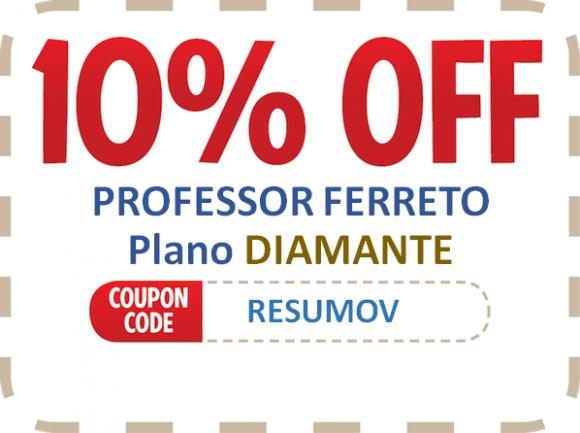Professor Ferretto – Cupom de desconto
