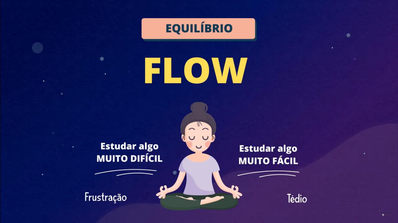 O que é o ESTADO DE FLOW nos estudos (fluxo)
