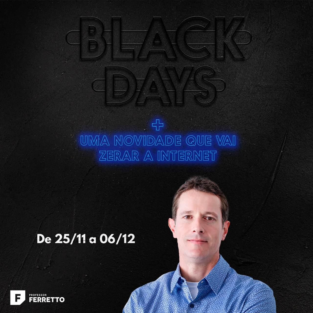 Cursos para aproveitar na Black Friday